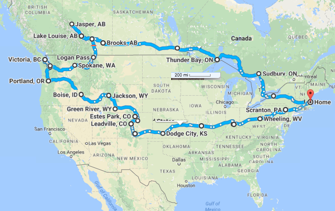 dennis dixon is heading west 2016 fall road trip itinerary