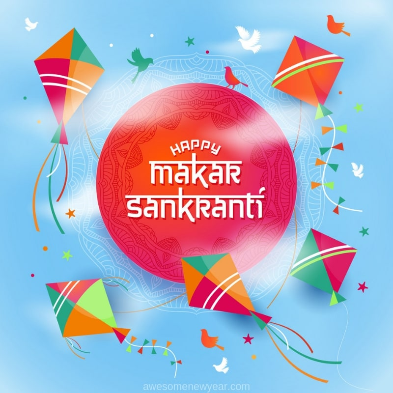 Happy Makar Sankranthi 2019 with Images