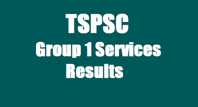 TSPSC Group 1 Services Results ,Group I Certificates Verification Schedule