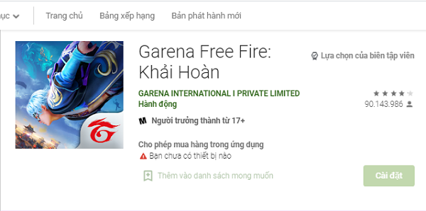 Tải Garena Free Fire PC về máy tính và cài đặt chơi game miễn phí a