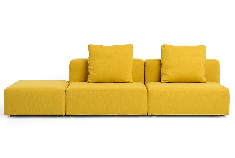 divano 3post giallo Build by Kauch