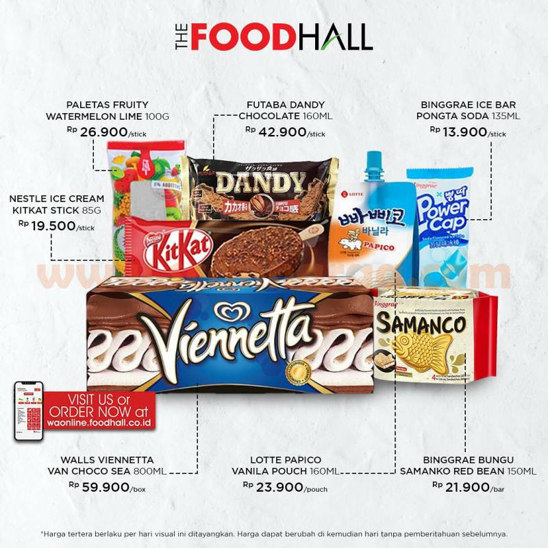 Foodhall Promo Harga Spesial Viennetta: Ready Stock Now!