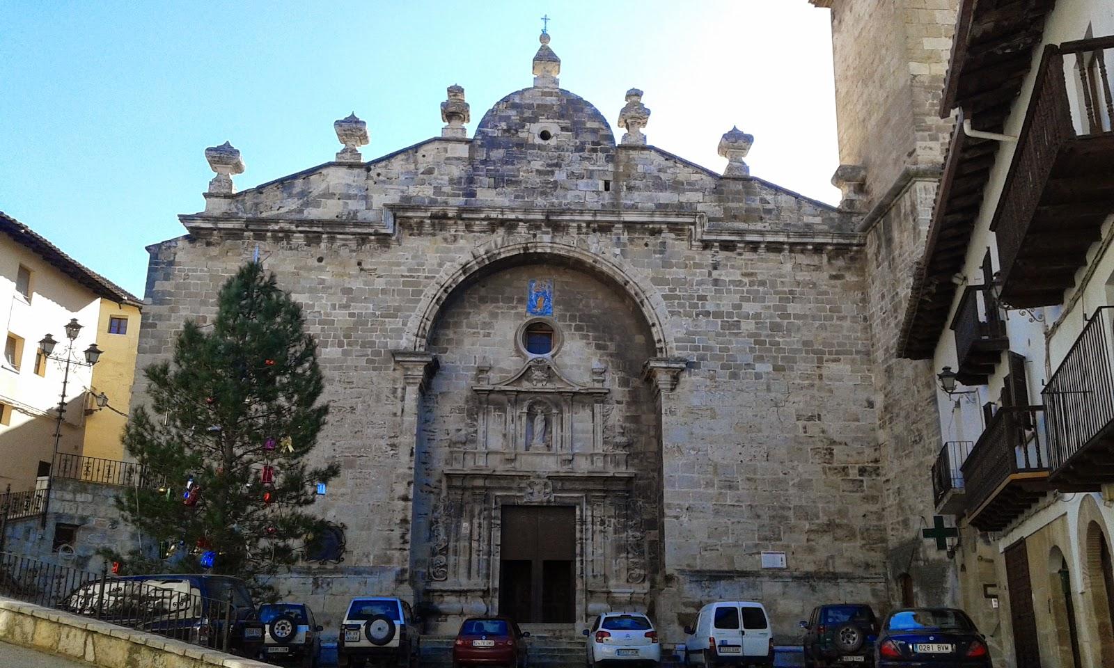 Iglesia de Santa María la Mayor, Peñaroya de Tastavins