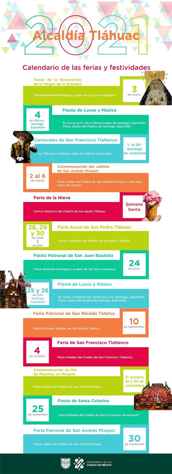 Feria San Pedro Tláhuac 2021