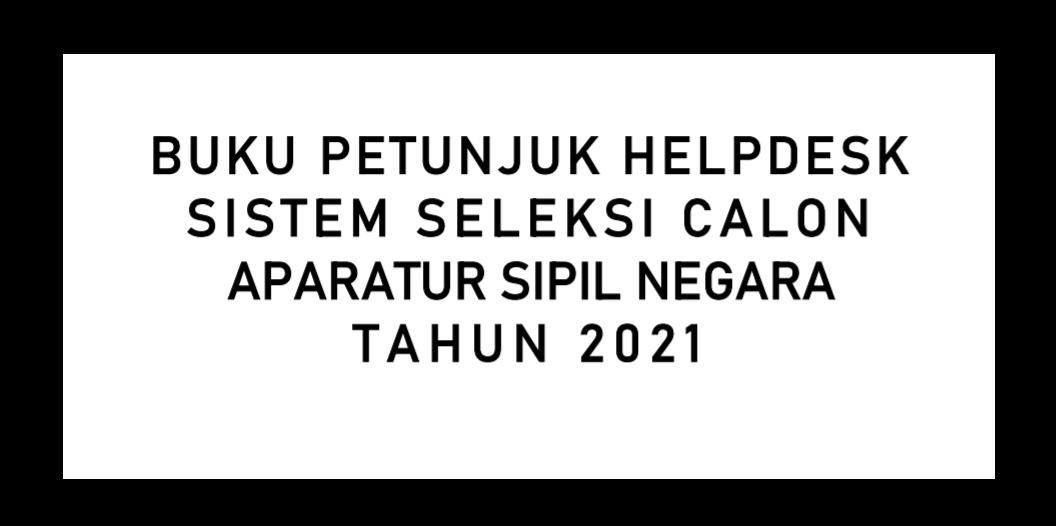 gambar buku petunjuk helpdesk pppk guru 2021