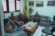 Danramil 05/KJ Kapten Inf J Edi Suroso Sambangi Universitas Al KAMAL