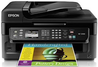 Epson WorkForce WF-2540 driver download Windows, Mac OS and Linux