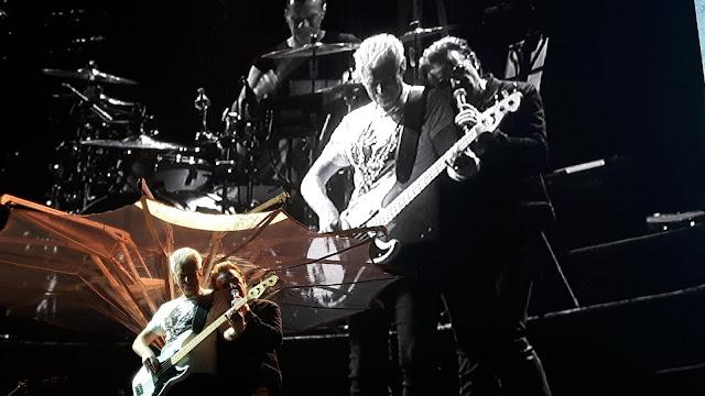 Bono und Adam 2017 Berlin