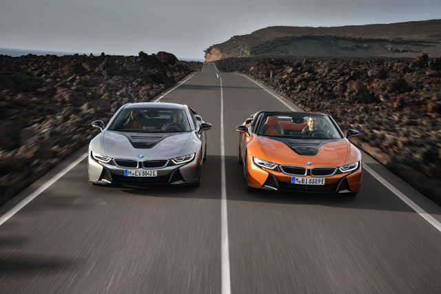 BMW i8 2019: Superior products restore the line of electric cars BMW
