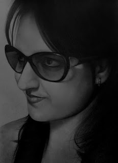 girl-portrait-drawing-with-sun-glasses