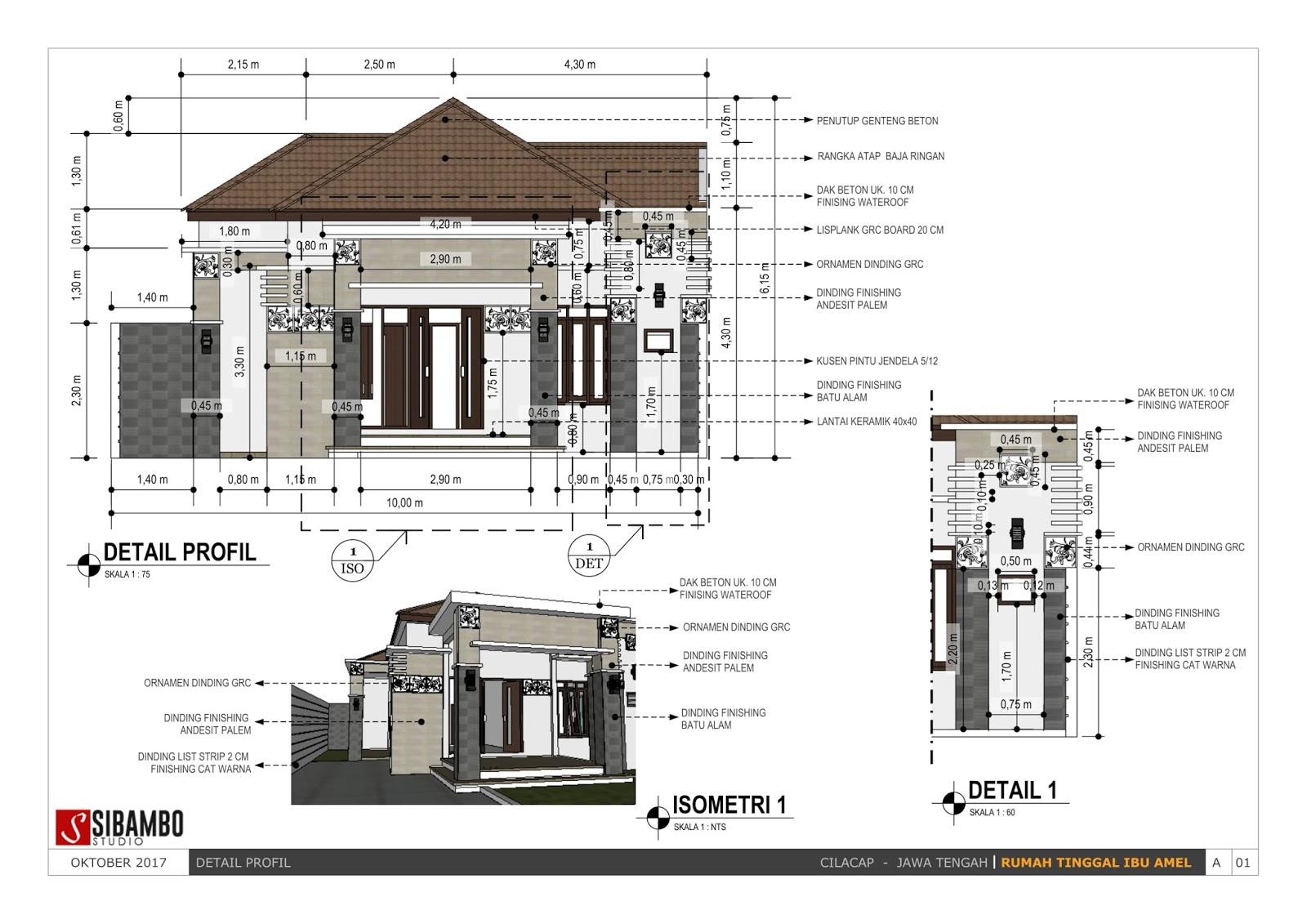 Desain Rumah Minimalis Sederhana Satu Lantai 10 X 30 M Yang T&il