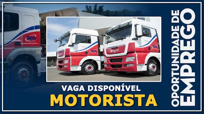 Tassi Transportes abre vagas para Motorista Carreteiro