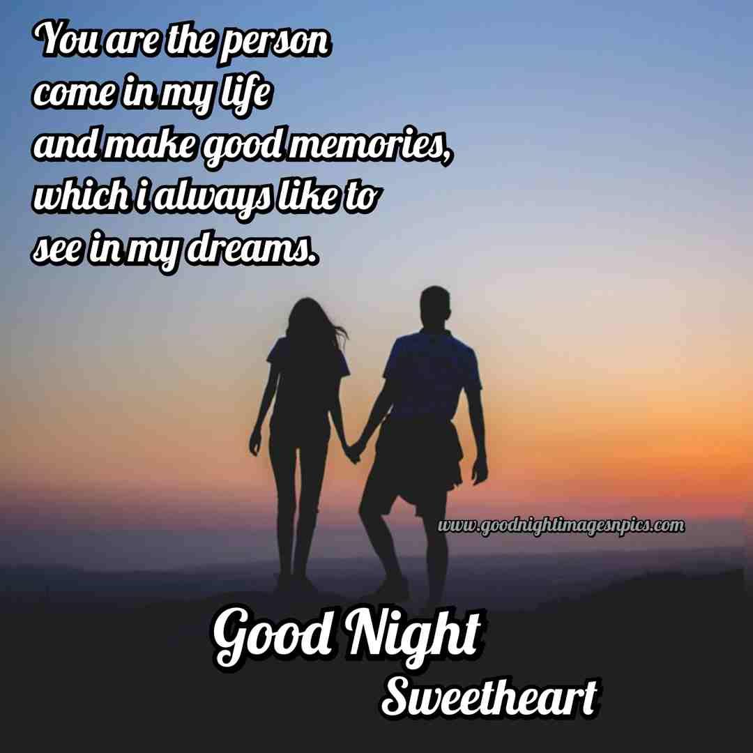 Romantic good night pics