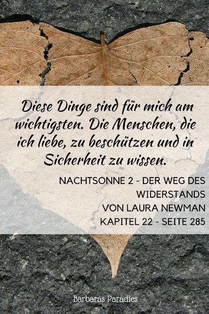 Buchrezension #159 Nachtsonne 2 - Der Weg des Widerstands von Laura Newman