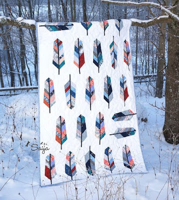 Feather Quilt by Saija Elina