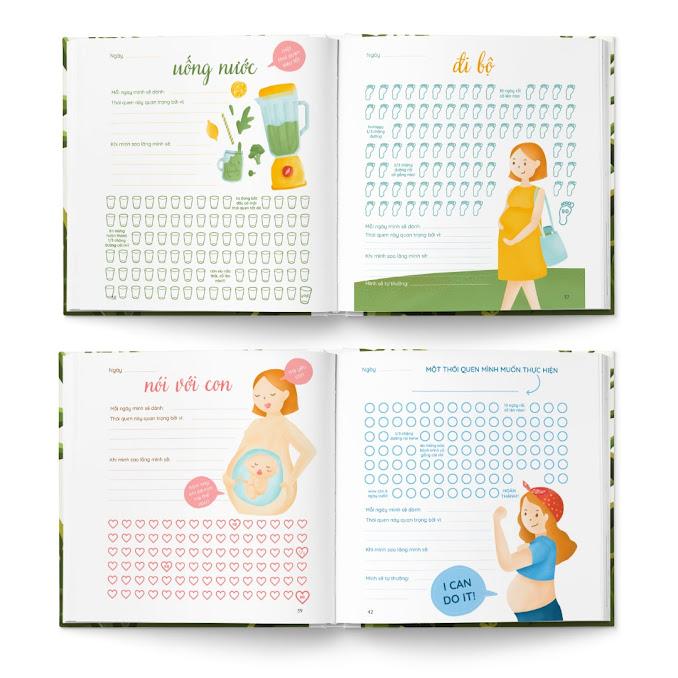 [A116] Hành trình mang thai: Bộ sách thai giáo cực chất cho Mẹ Bầu