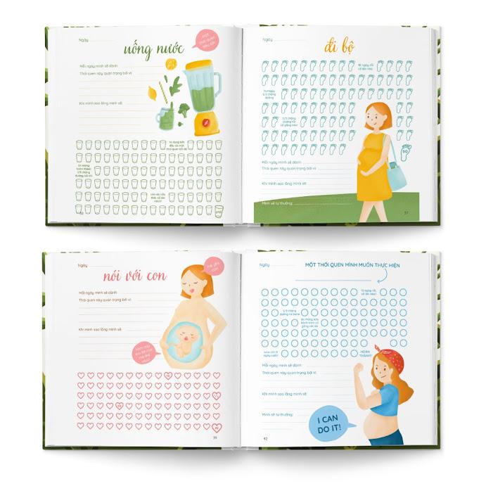 [A116] Mua sách tô màu cho Bà Bầu tốt cho thai nhi