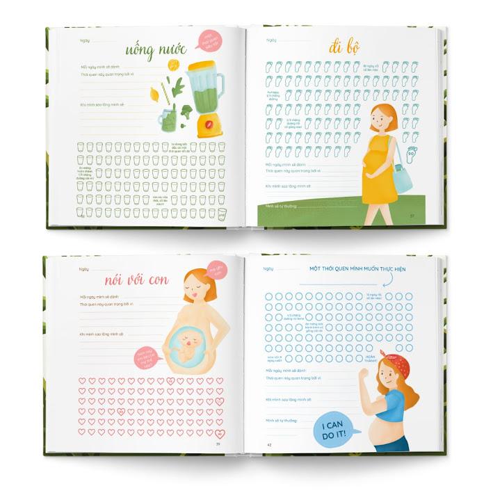 [A116] Sinh nhật Bà Bầu: Tặng sách thai giáo cực chất
