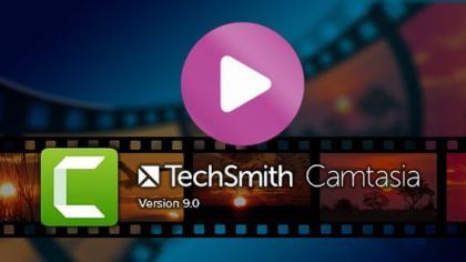 Produção e Edição de Vídeos com Camtasia Studio 9 Download Grátis