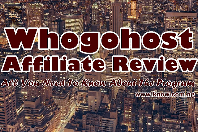 Whogohost Affiliate Review | All You Need To Know About The Program