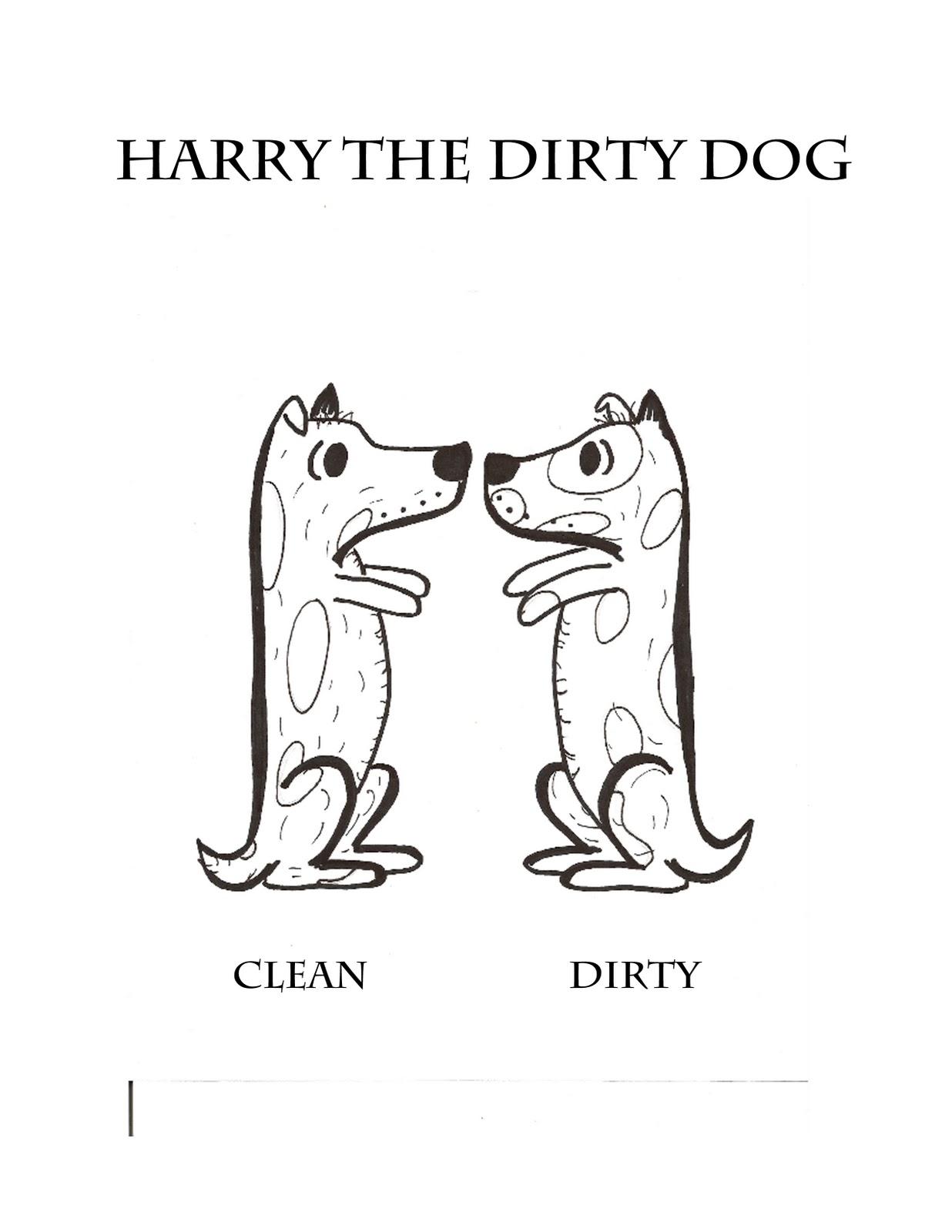 I Heart Art Harry The Dirty Dog