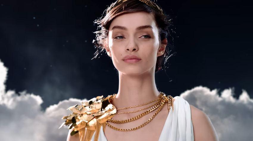 Canzone Paco Rabanne pubblicità Olympèa con Luma Grothe vestita da dea - Musica spot profumi Dicembre 2016