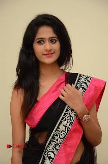 Actress Harani Pictures in Saree at Dada Puttista Audio Launch  0022.jpg