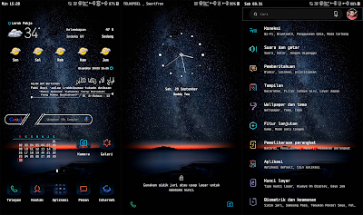 Black Ilusion Samsung Theme for Android Oreo & Nougat