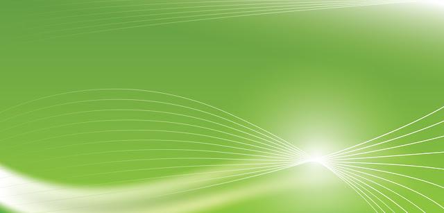 keindahan hijau lengkungan