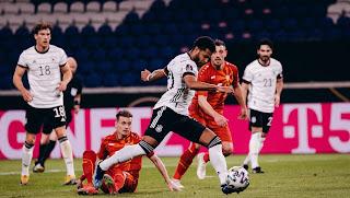 ملخص واهداف مباراة المانيا ومقدونيا (1-2) تصفيات كأس العالم