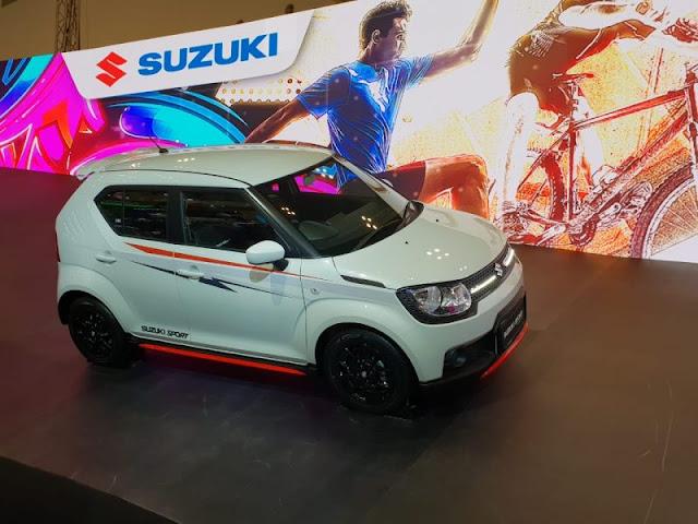 Mobil Suzuki yang Lebih Sporty
