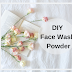 DIY Face Wash Powder for Clear, Fair and Glowing Skin