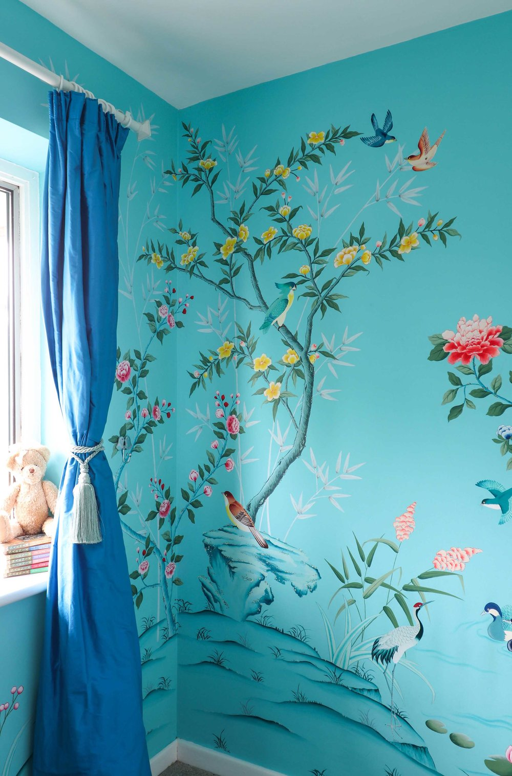 Turquoise Chinoiserie, Nursery