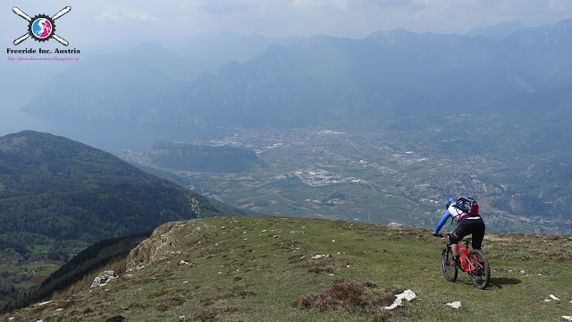 Biketour Monte Stivo Gardasee