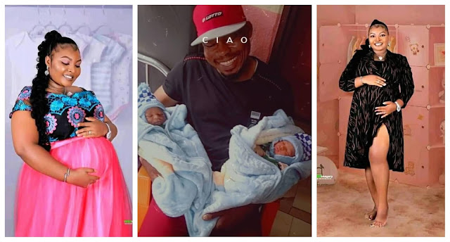 Nigerian Couples welcome Twins after 8 years of waiting (photos)