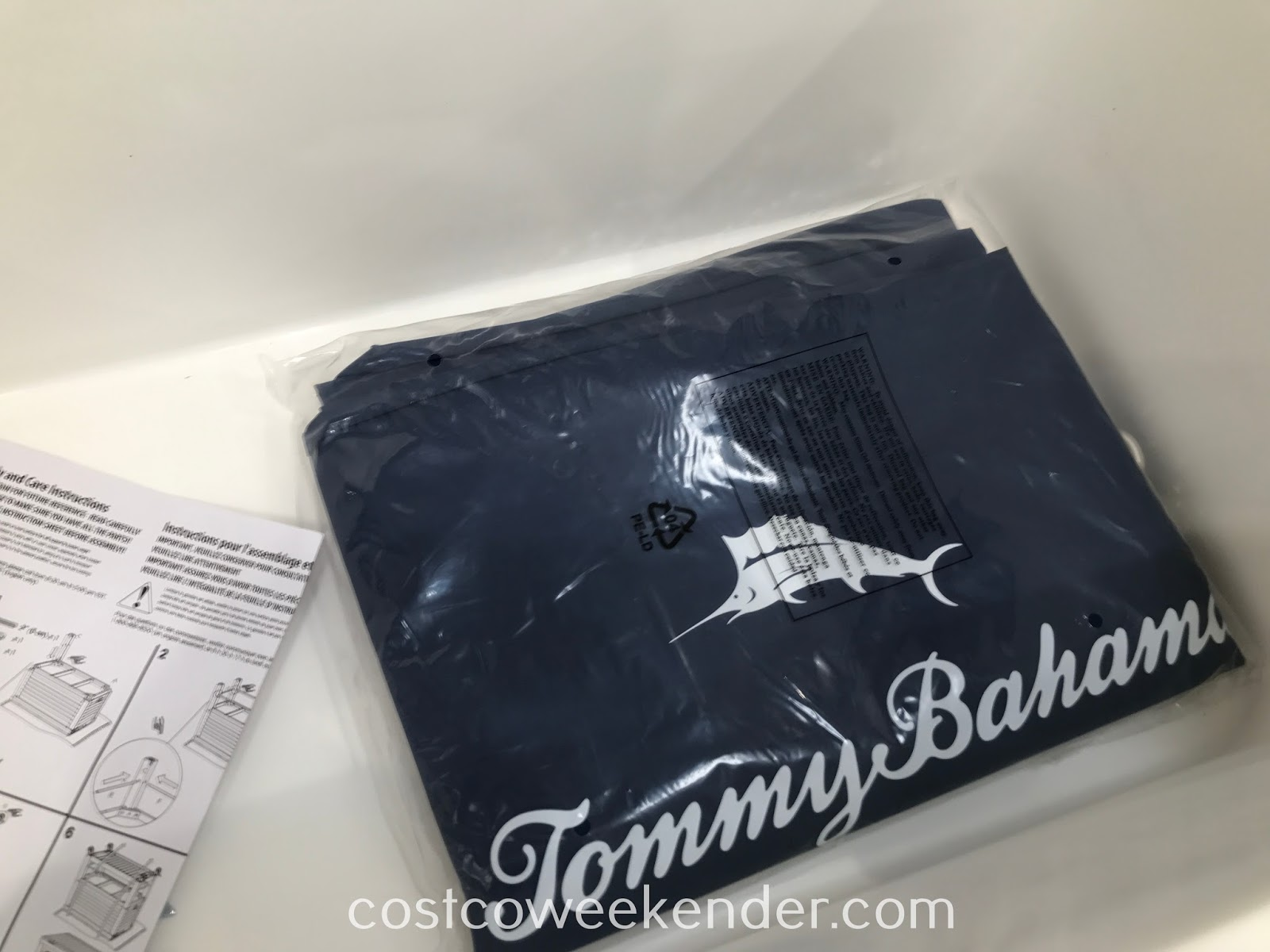 Cover to protect your Tommy Bahama Wood Rolling Cooler from the elements