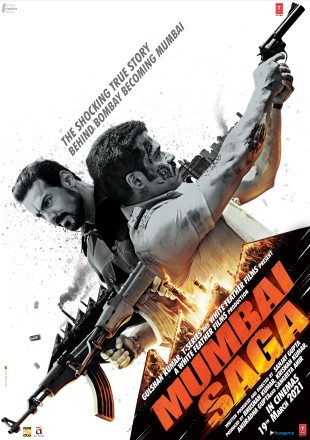 Mumbai Saga 2021 Full Movie Download pDVDRip 480p 300Mb