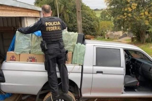 Esquema de contrabando e descaminho é desarticulado pela PF e Receita em Tanque Novo