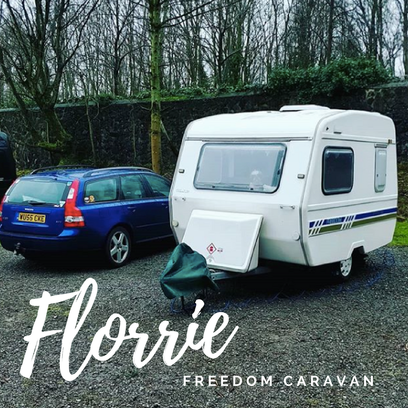 This is a picture of a freedom micro caravan