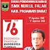 SMK Nurul Falah Mengucapkan Selamat HUT RI Ke-76