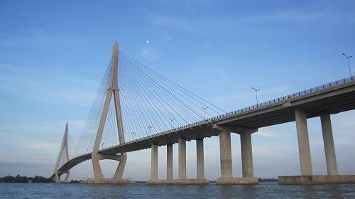 Cầu Cần Thơ - Một trong nhiều công trình tại Cần Thơ sử dụng Thép Hòa Phát