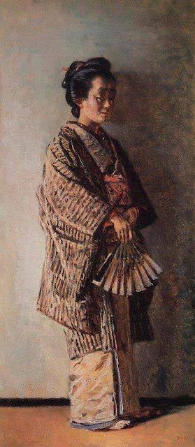 Василий Васильевич Верещагин - Японка. Около 1904