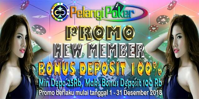 Bonus-Deposit-100%-New-Member-Pelangi-Poker