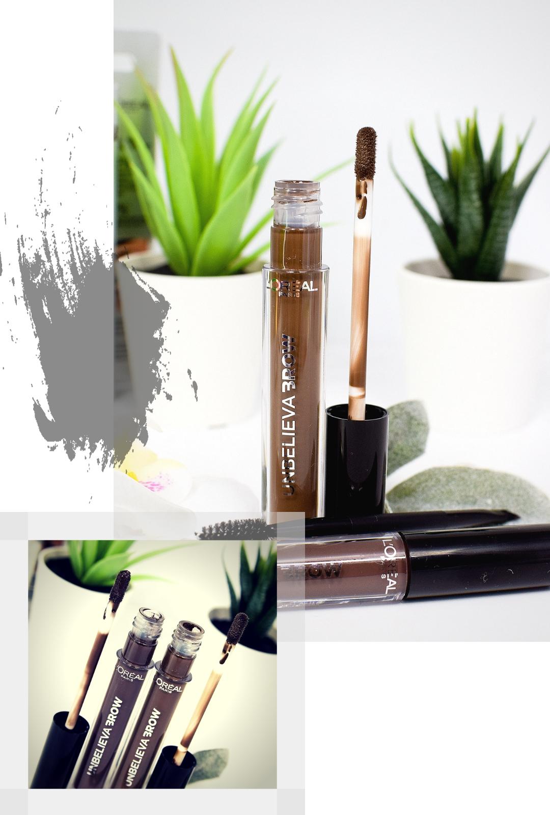 Swatch und Review zum neuen L'Oréal Unbelieva-Brow Augenbrauen Gel.