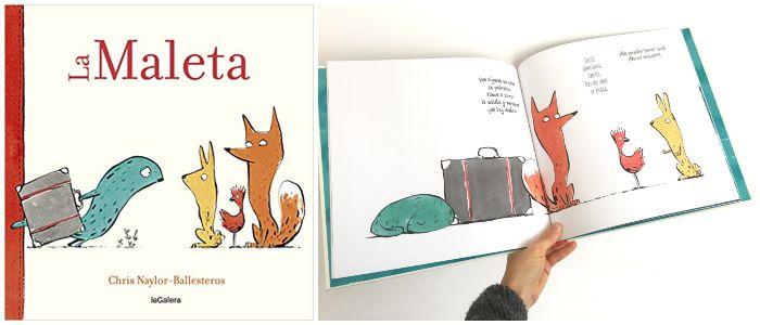 cuento infantil 5 a 8 años regalar Navidades La maleta La galera