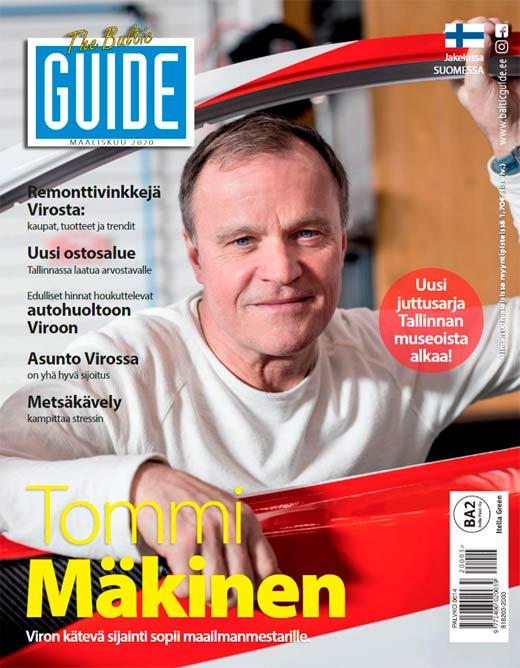 baltic guide 2020, baltic guide maaliskuu, guide tallinna, tallinna tutuksi
