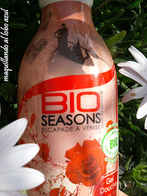 Gel de ducha y baño Rose Passion de Bio Seasons