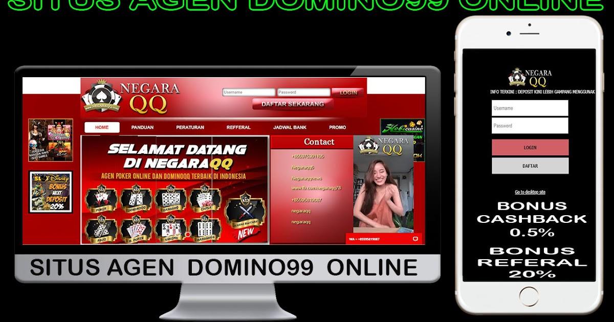 Agen Domino99 Online Terpercaya - Situs Poker Online