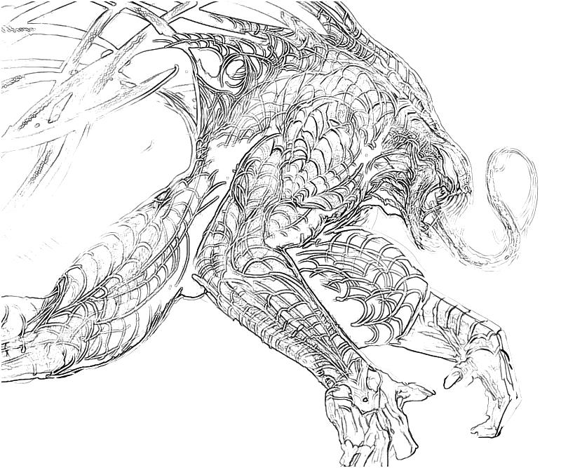 The amazing spider man lizard character yumiko fujiwara for Amazing spiderman coloring pages