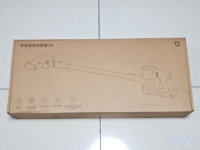 【MI 小米】米家無線吸塵器 G9 (白色) 開箱_包裝